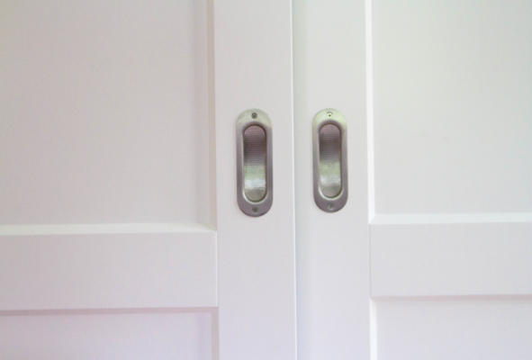 schuifdeurkast detaille deur